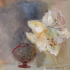 Marina Louw painting I bought for myself! Flower Paintings, Painting Flowers, Wall Candy, Watercolour Flowers, Language Of Flowers, Still Life Art, Floral Patterns, Happy Colors, Inspiring Art