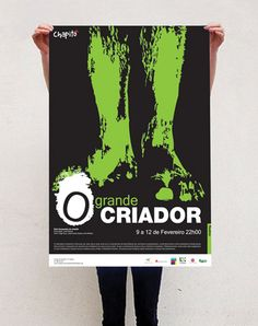 Proposals for posters - Chapitô - Lisbon by Juliana Freitas, via Behance