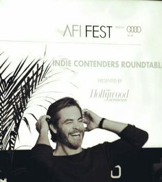 Chris Pine, AFI Fest 2016