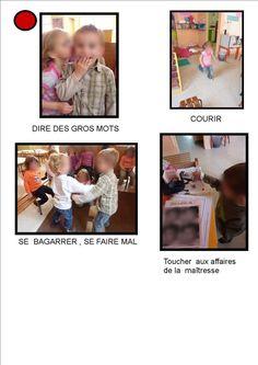 règles de vie 1 - La maternelle de MAYA