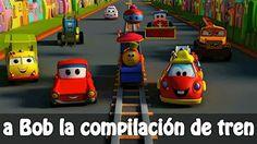 Bob el tren en rimas español | Bob el Tren canción de las formas | Bob el tren compilación español - YouTube