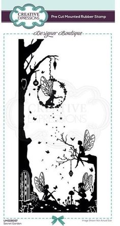 • Highly detailed stamp that will fill a DL card front • Close cut foam mounted rubber stamp ready to use • Use with ink pads, or paint, will be great with Cosmic Shimmer detail embossing powder