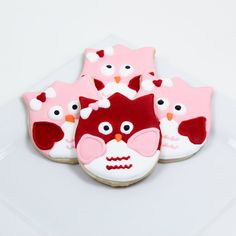 owl cookies, SOOOOO cute!