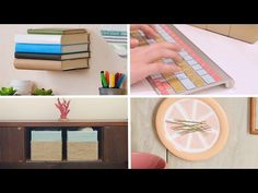 (1) 11 DIY Projects For The Dopest Dorm Room Ever - YouTube