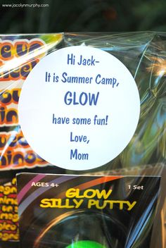 Glowing Camp Care Package