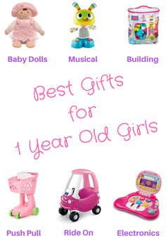 Gifts for 1 Year Old girls include a whole range of fun learning toys! Check out my top picks, Mom approved, baby tested!
