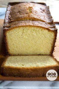 LCHF cream cheese pound cake