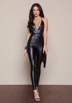 Shop Trendy Women's and Junior Clothing Red Leather Skirt, Black Leather Dresses, Leather And Lace, Leather Pants, Junior Outfits, Sexy Outfits, Fashion Outfits, Leather Bodysuit, Vinyl Clothing