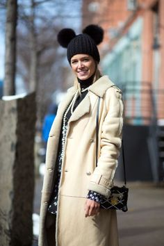 See the best of New York Fashion Week street style, here: