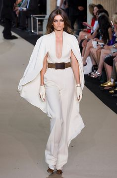 by French designer Stephane Rolland as part of his presentation for Women's Fall Winter 2013 haute couture fashion collection,