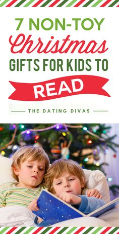 Non-Toy Christmas Gifts for Kids to Read