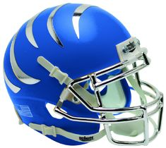 77db74b16 Memphis Tigers Schutt XP Mini Helmet - Matte Blue by Schutt | Game Day  Treasures