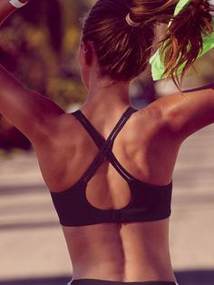 One workout and there's no turning back. Not without those adjustable straps. | Angel by Victoria's Secret Sport Bra
