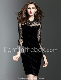 b84721eeb19 Women s Party Work Plus Size Sexy Bodycon Dress