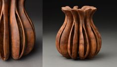 Seedpod vessel with symbols, by Andi Wolfe