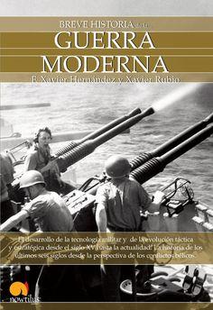 Portada de Breve historia de la Guerra Moderna