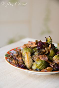 Buttered Bacon Brussels Sprouts (Gluten-Free)
