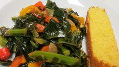 Vegetarian Collard Greens #Vegetarian #CollardGreens