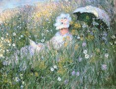 Evolution V fotobehang 1421 Claude Monet, Water Lilies