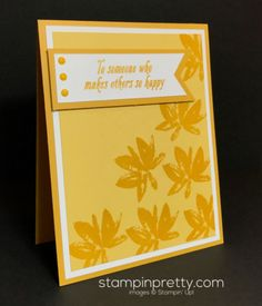 Avant Garden friend card.  Mary Fish, Stampin' Up! Demonstrator.  1000+ StampinUp & SUO card ideas.  Read more http://stampinpretty.com/2017/01/step-into-an-avant-garden.html