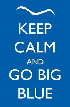 well i'm not sure that big blue nation can keep calm, but still :)