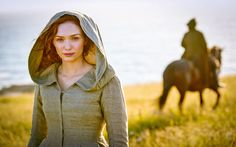 Actress Eleanor Tomlinson talks about the new Masterpiece series on PBS, Poldark, working with Aiden Turner, comparisons to Downton, future seasons & Poldark Tv Series, Poldark 2015, Demelza Poldark, Ross Poldark, Bbc Poldark, Aidan Turner, Poldark Season 3, Ross And Demelza, 2015 Tv