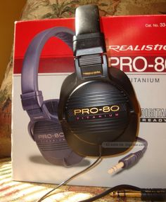 Realistic headphones.  I sold many of these.