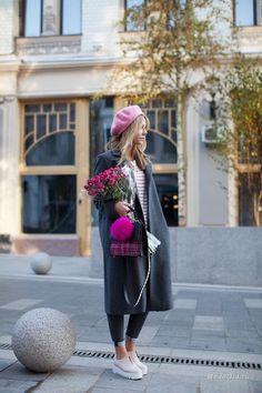 Уличная мода: Лучшие образы от модных блоггеров за неделю: Chriselle Lim, Victoria Platina, Doina Ciobanu и другие
