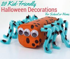 20 Kid-Friendly Halloween Decorations for School or Home | thegoodstuff