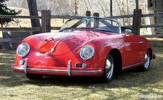 1957 Porsche 356 Speedster.  I wish I still had my Speedster.