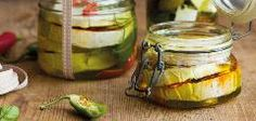Nakládané sýry Pickles, Feta, Cucumber, Healthy Eating, Homemade, Yum Yum, Red Peppers, Home Made, Pickling