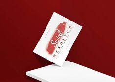 Typograficzne kartki pocztowe na Boże Narodzenie różne wzory   Etsy Place Cards, Place Card Holders, Etsy