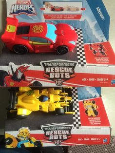 Rescue Bots Hero Racers - In-Hand Images Of New Pull-Back Motor Transformers Released In Hong Kong