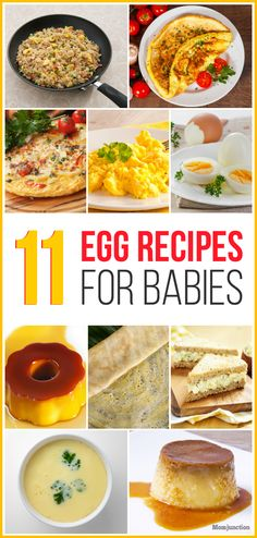 11 Egg Recipes For Babies
