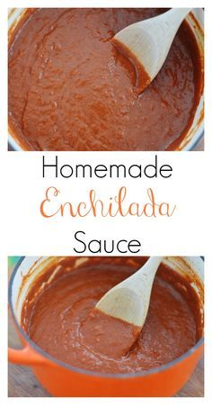 The Art of Comfort Baking: Homemade Enchilada Sauce. If your family loves Mexican food as much as we do, you need to have this recipe in your life!