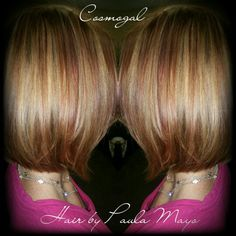Copper, red and blonde