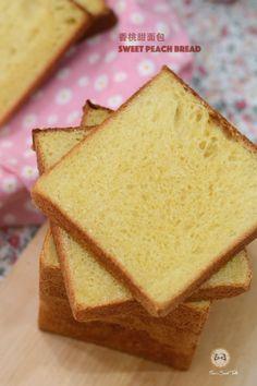 香桃甜面包 Sweet Peach Bread