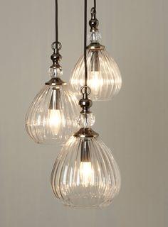 Mirielle 3 light Cluster - Ceiling Lights - Home, Lighting & Furniture - BHS