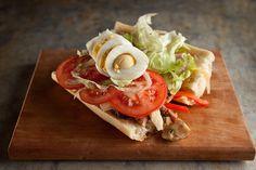 Sandwich western | Recettes | Signé M