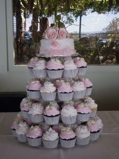 White And Pink Wedding Cake Cakes Pictures