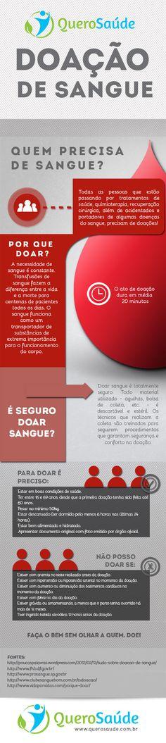 Doação de Sangue: Saiba os requisitos e a importância de ser doador! #doesangue