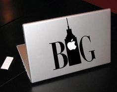 25 Creative Macbook Skins Using the Apple Logo... If only you had a Macbook!!!