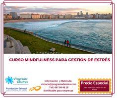 Después de que muchos participantes me lo pidieran ya está en programado el curso de #Mindfulness en #ACoruña, así que no te lo pierdas si vives allí o sitios próximos. #Matrícula Abierta.