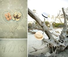 Jekyll Island Driftwood Beach: http://beachblissliving.com/driftwood-beach-jekyll-island/ A popular spot to take great pictures!