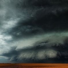 """One of the most intimidating #supercells that I have ever stared down."" Photo Credit: @mikemezphot"
