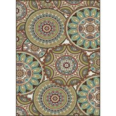 Decora Multi Transitional Area Rug - Overstock™ Shopping - Great Deals on 7x9 - 10x14 Rugs