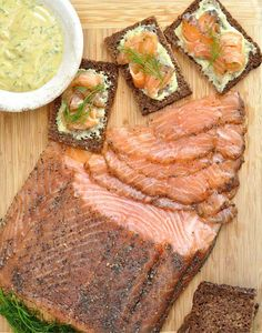 How to make salmon Grav Lax - my mom and I love bagels and lox in the mornings