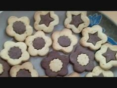 ♥Katy's cooking 煮食篇: 印模曲奇 Butter cookies - YouTube