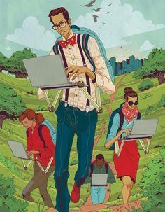 Nature vs technology