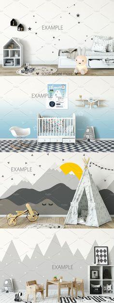 KIDS interior creator by Yuri-U on @creativemarket #ad